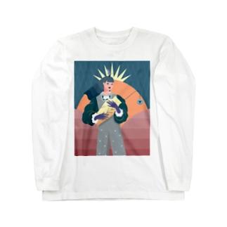 壺 Long sleeve T-shirts