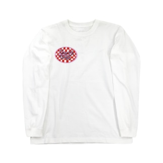 Laid Back VillageのCherry's Crepe Long sleeve T-shirts