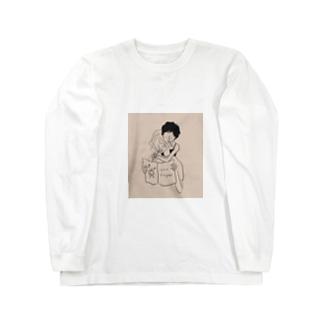 歯みがきタイム Long sleeve T-shirts