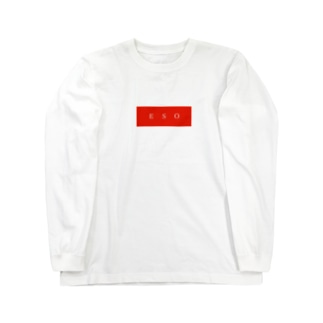 E.S.O box logo  Long sleeve T-shirts