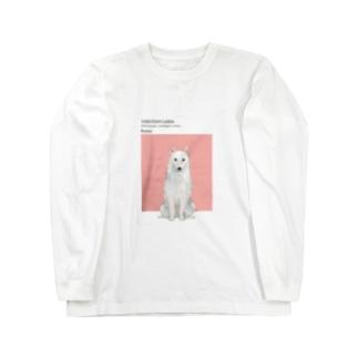 犬 ヤクーチアン ライカ  Long sleeve T-shirts