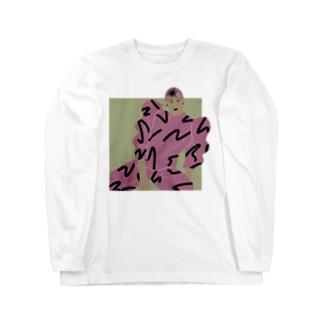 modern girl Long sleeve T-shirts
