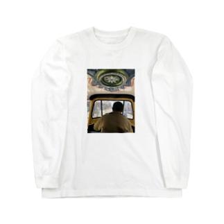 インドのオートリキシャ Long sleeve T-shirts