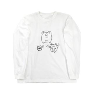 はむすたまきん Long sleeve T-shirts