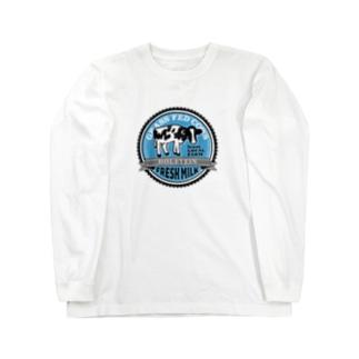 FRESH MILK フレッシュミルク Long Sleeve T-Shirt