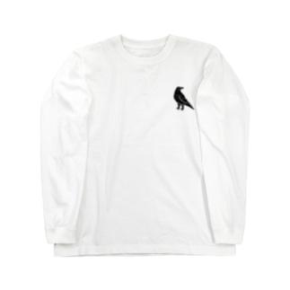 牙鳥 Long sleeve T-shirts