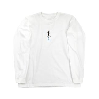 石竜子 Long sleeve T-shirts