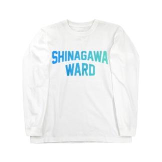 品川区 SHINAGAWA WARD Long sleeve T-shirts
