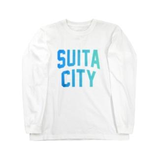 吹田市 SUITA CITY Long sleeve T-shirts