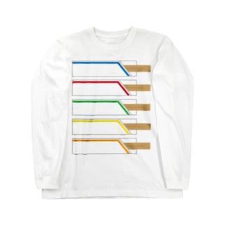 割りばし Long sleeve T-shirts