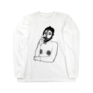 うのの感染症対策 Long sleeve T-shirts