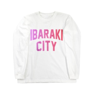 茨木市 IBARAKI CITY Long Sleeve T-Shirt