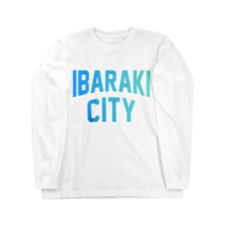 茨木市 IBARAKI CITY Long sleeve T-shirts