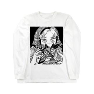君と花 Long sleeve T-shirts