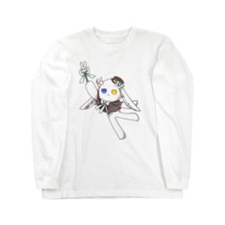 ラビさん Long sleeve T-shirts