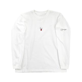 ぴゃーぱのpyaaaTくちびるred Long Sleeve T-Shirt