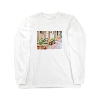 oshirino__anaの九份わんちゃん Long sleeve T-shirts