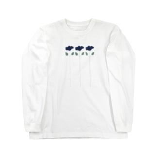 お花たち Long sleeve T-shirts