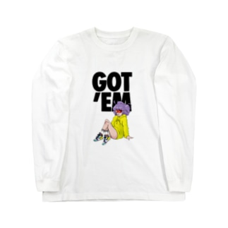 GOTEM Creamy Long sleeve T-shirts