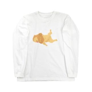 弱いライオン Long sleeve T-shirts