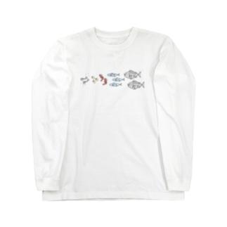 ショクモツレンサ Long sleeve T-shirts