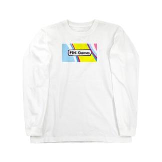 PIN:Games オリジナル ロングスリープTシャツ Long sleeve T-shirts