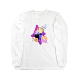 《ハロウィン》04*チェシャきじとら猫* Long sleeve T-shirts