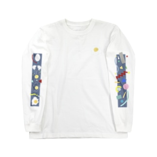 目玉焼き少女 Long sleeve T-shirts