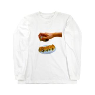 Gyoza Tarari Long sleeve T-shirts