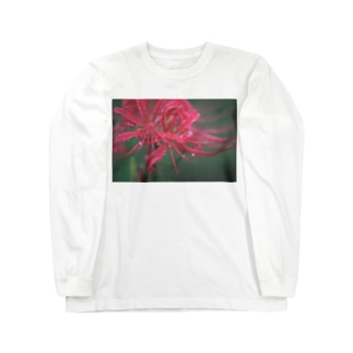彼岸花  Long sleeve T-shirts