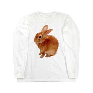 ちんまりつぶあんTシャツ Long sleeve T-shirts