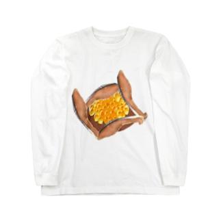 はらこ飯 Long sleeve T-shirts