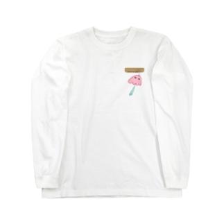 メンダコ風鈴 Long sleeve T-shirts