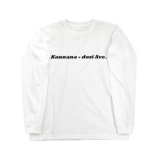 環七通り Long sleeve T-shirts