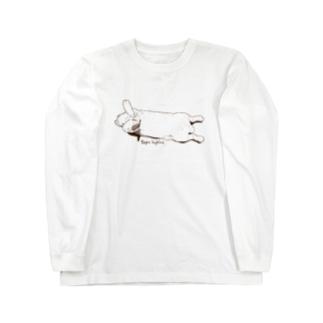のびーる子うさぎちゃん Long sleeve T-shirts