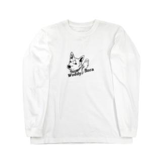 らぴちのおみせのうっでぃ&そら Long sleeve T-shirts