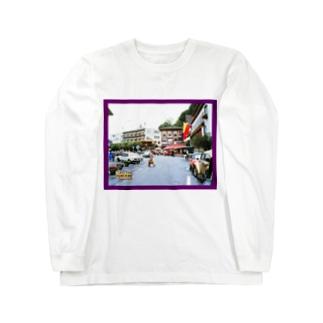 リヒテンシュタイン:ファドゥーツの街角風景 Liechtenstein: Vaduz Long sleeve T-shirts