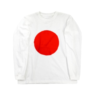 日本代表シンボル「日の丸」 Long sleeve T-shirts
