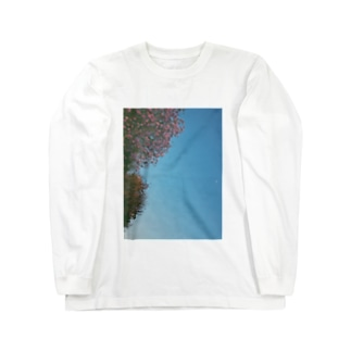 月 Long sleeve T-shirts