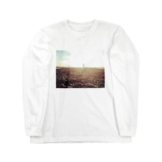 引き潮 Long sleeve T-shirts