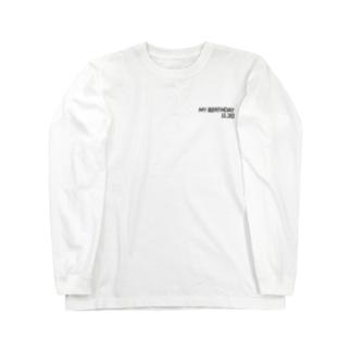 誕生日【11月30日】- ワルトラ Long sleeve T-shirts