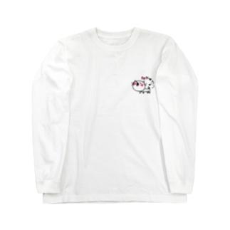 matsukingのルンっルンっネコちゃん Long sleeve T-shirts