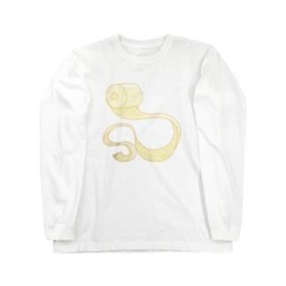 アーティスティックトイレットペーパー Long sleeve T-shirts