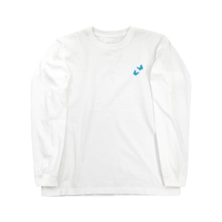 butterfly × football Long sleeve T-shirts