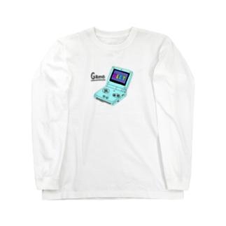 げーむぼーい Long sleeve T-shirts