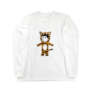 タイガーピッグ Long sleeve T-shirts