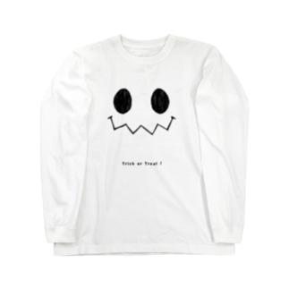 ハロウィンスマイル(羽なしver) Long sleeve T-shirts