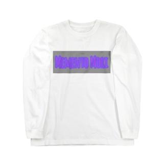 メメント・モリ ロゴ プリント ビックシルエットT Long Sleeve T-Shirt