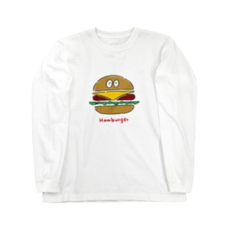 ハンバーガーくん Long sleeve T-shirts