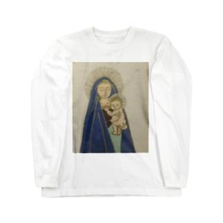 聖母子シリーズ Long sleeve T-shirts